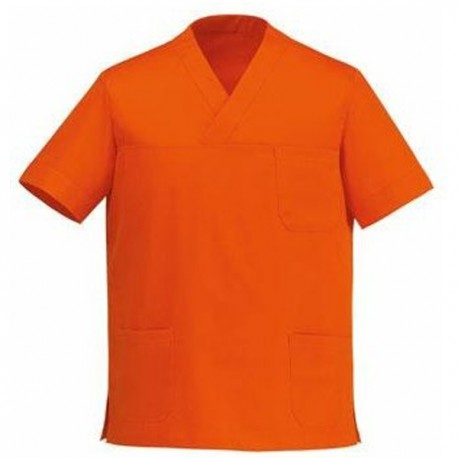 Tunique médicale orange